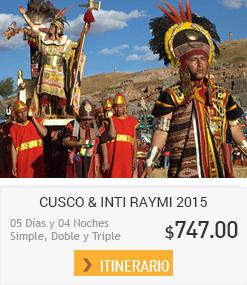 Inti Raymi O Fiesta Del Sol